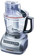 KitchenAid KJA13AS Processador de Alimentos, Cinza (Contour Silver), 3.1L