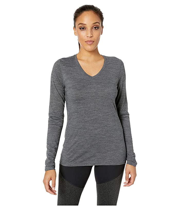 Smartwool Merino Sport 150 Long Sleeve (Medium Gray Heather) Women