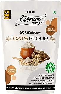 Essence Nutrition Oats Flour (Atta) - 1.25 Kg - Gluten Free Oats Flour (Atta) Made from Australian Oats
