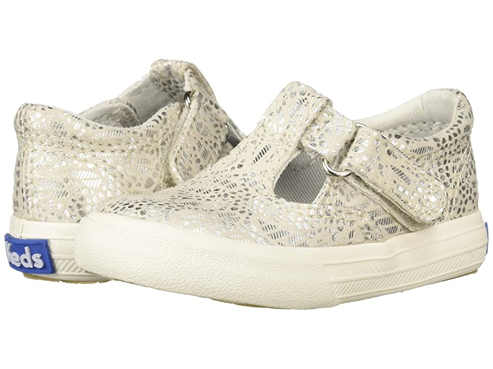 Keds Kids Daphne (Toddler/Little Kid) (Silver Textile) Girl