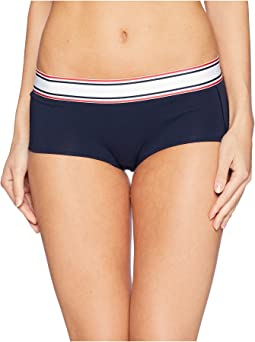 Retro Stripe Hip Hugger
