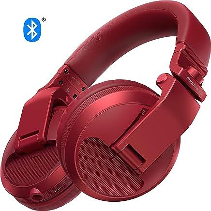 Pioneer DJ DJ Headphones, Red (HDJ-X5BT-R)