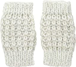 KNG3606 Metallic Yarn Fingerless Gloves
