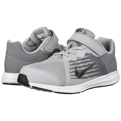 Nike Kids Downshifter 8 Wide (Little Kid) (Wolf Grey/Metallic Dark Grey/Cool Grey/Black) Boys Shoes