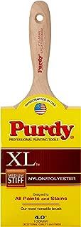 Purdy 144400340 XL Series Swan Enamel/Wall Paint Brush, 4 inch