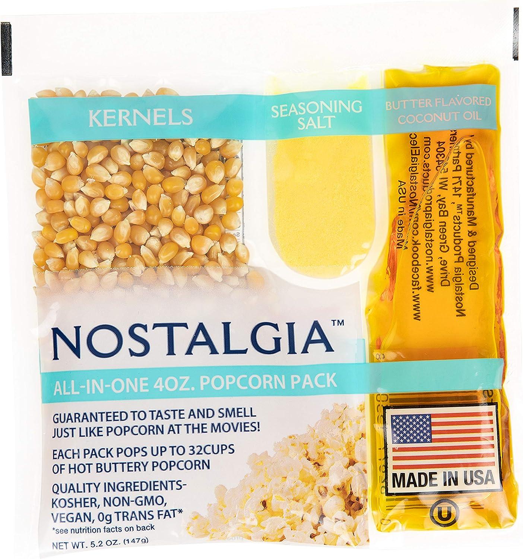 16. Nostalgia Best Tasting Premium Popcorn