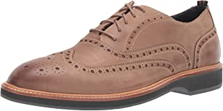 Cole Haan Men's Morris Wing Ox:Taupe Nubuck Oxford
