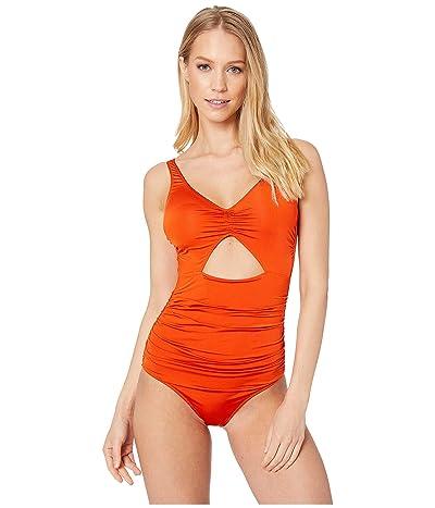 Stella McCartney Ballet One-Piece Wrap (Orange/Cream) Women