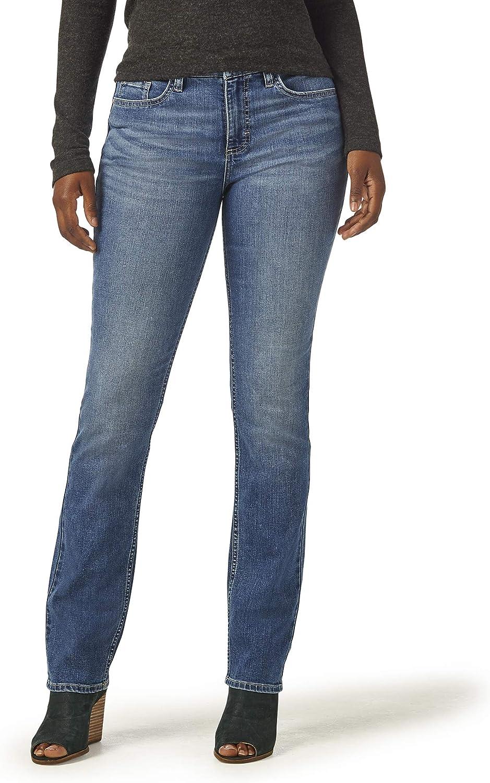 1 year warranty Riders by Lee Indigo Women's Leg Midrise Straight New product!! Jean