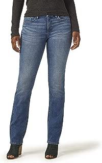 Women's Midrise Straight Leg Jean