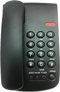 VTech Telefono Alambrico, Montable en Mesa O Pared Teléfonos de Línea Fija, (TELVTC100)
