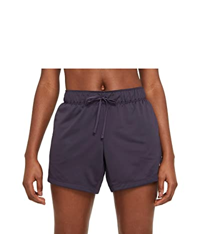 Nike Dry Attack Shorts (Dark Raisin/Pink Glaze/Pink Glaze) Women