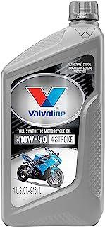 روغن موتور والوولین 4 ضربه ای موتور Synthetic SAE 10W-40 روغن موتور 1 QT