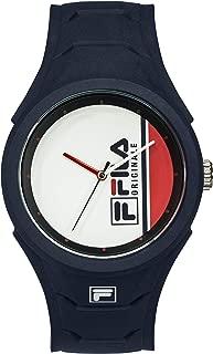Fila - originale - reloj Mens Analog Quartz Watch with Silicone bracelet 38-311-001