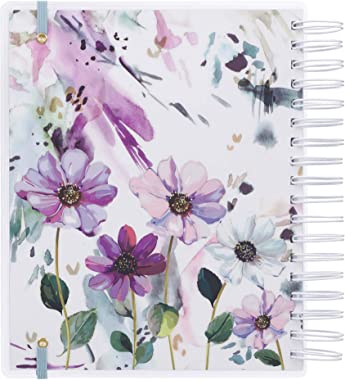 Christian Art Gifts Weekly/Monthly Planner Live Simply 18-Month Planner Personal Agenda Organizer for Women 2021, Wirebound