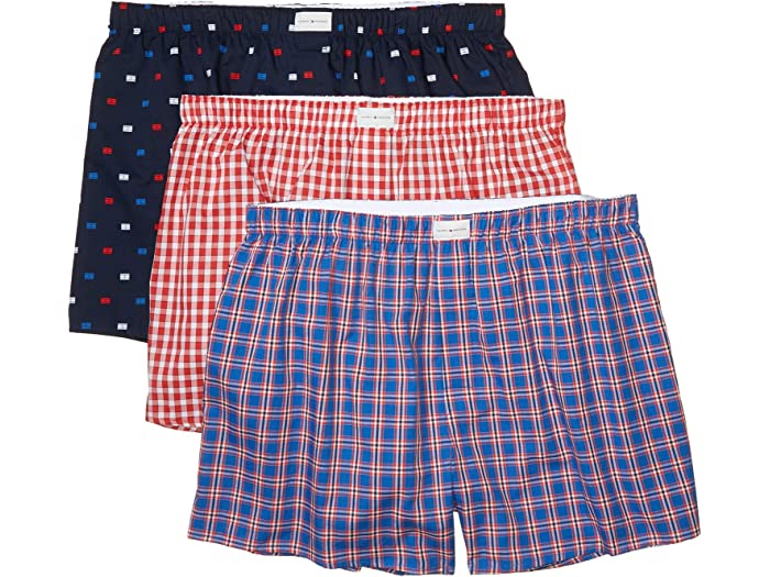 Tommy Hilfiger Mens Underwear Cotton Classics Multipack Knit Boxers