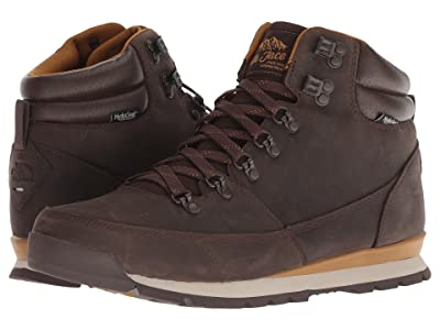 The North Face Back-To-Berkeley Redux Leather (Chocolate Brown/Golden Brown) Men