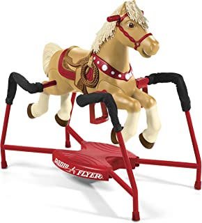 Radio Flyer Champion Interactive Horse Ride On, Tan