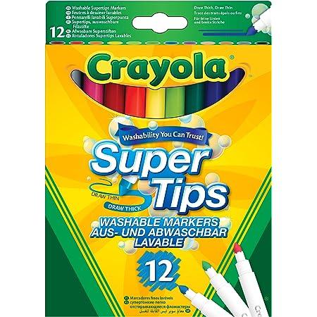Crayola- Disney Rotuladores lavables, Color surtido (Nomaco 7509)