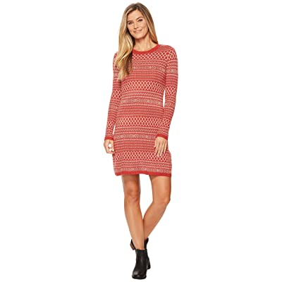 Aventura Clothing Fallon Dress (Tandori Spice/Oatmeal) Women
