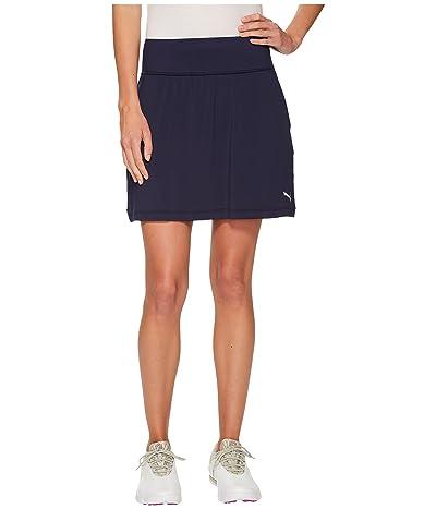 PUMA Golf PWRSHAPE Solid Knit Skirt (Peacoat) Women