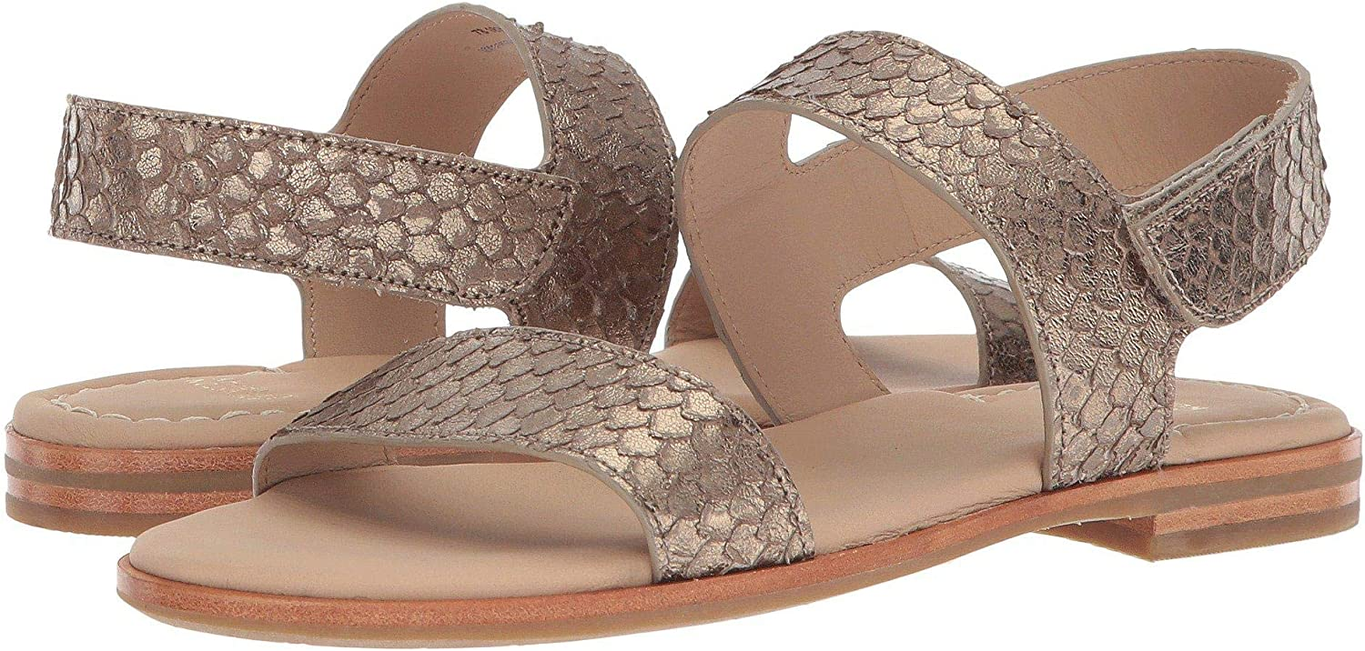 Johnston & Murphy Womens pinklie Open Toe Casual Ankle Strap Sandals