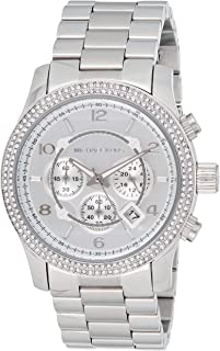 Michael Kors Womens Quartz Watch, Chronograph Display and Stainless Steel Strap MK5574