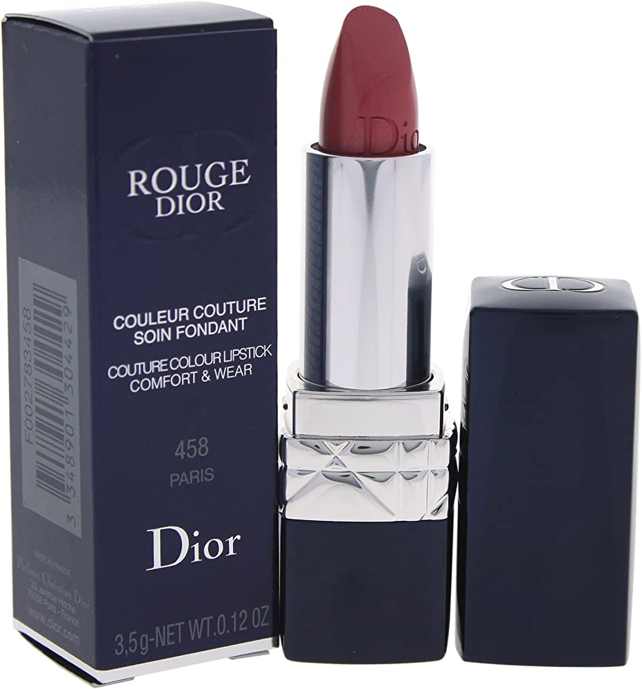 Christian dior rouge, dior rossetto, 458 paris, 3.5g W-C-11499