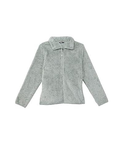 The North Face Kids Suave Oso Fleece Jacket (Little Kids/Big Kids) (Wrought Iron Heather) Girl