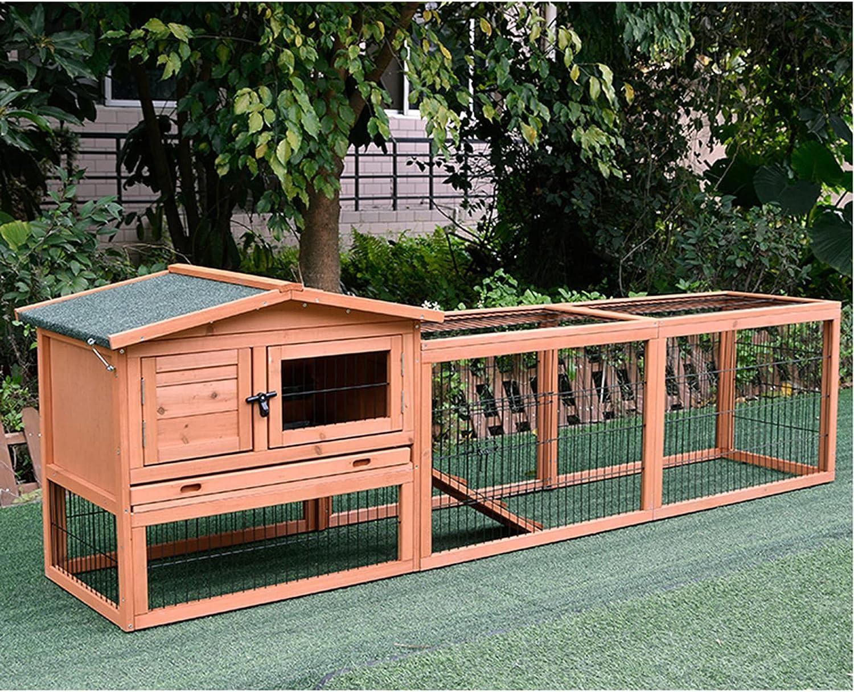 Outdoor wooden rabbit cage 70% OFF Outlet plus long-distance Gard Japan Maker New running