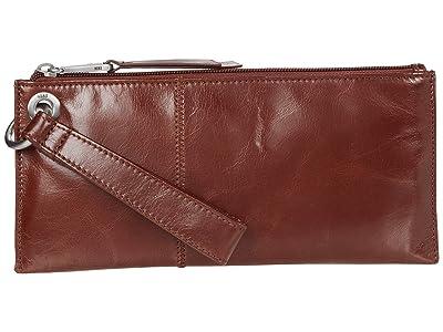 Hobo Vida (Chocolate Vintage Hide) Clutch Handbags