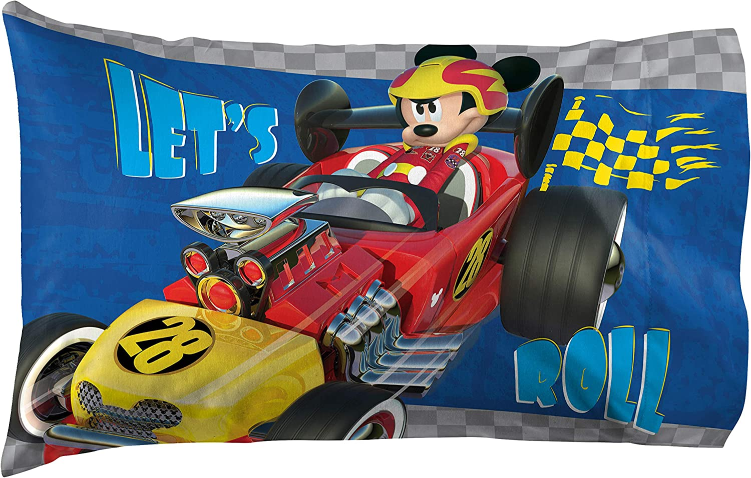 Jay Franco Disney Junior Mickey Mouse 20 Roadster Racers Popular brand in the world and The 2021 spring summer new