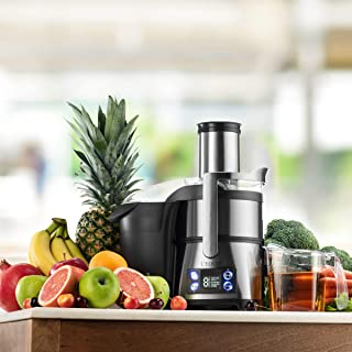 L'EQUIP XL Pulp Ejection Juicer (Stainless Steel)