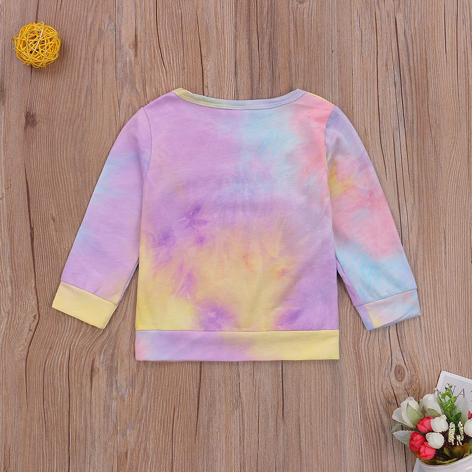 Toddler Baby Boy Girl Sweatshirt Tops Infant Long Sleeve Letter Print Pullover Sweater Blouse Fall Winter Clothes