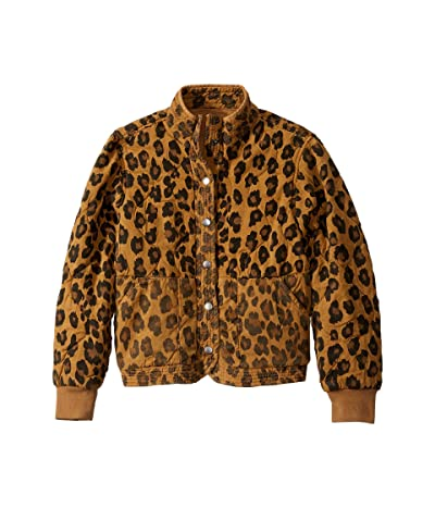 Blank NYC Kids Leopard Printed Quilted Jacket in Natural Attraction (Big Kids) (Natural Attraction) Girl