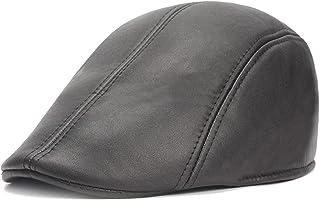 Anna-Parker Berretti medievali da uomo in pelle e berretto per uomo in Europa e America e cappelli per cappelli per vecchi