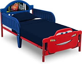 Delta Children Disney Cars Plastic Toddler Bed