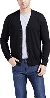 Sponsored Ad - Gilboa Men's 100% Cotton Cardigan Sweater