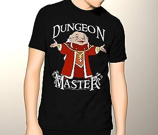 8f016d7c Dungeons and Dragons, D&D, Dungeon Master Cartoon, Premium Men's Graphic T- shirt