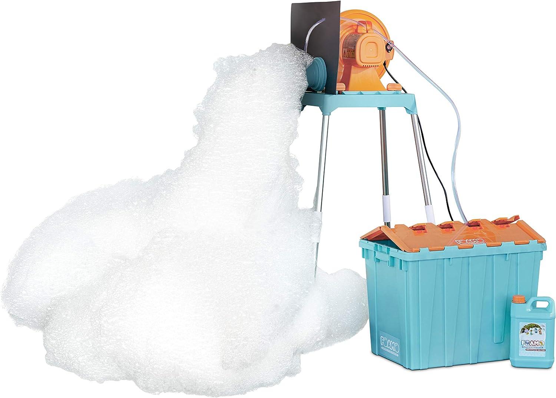 Foamo Foam Machine - Blowing foam