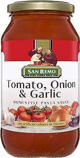San Remo Tomato Onion and Garlic Pasta Sauce, 500 g