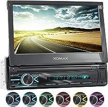 XOMAX XM-V746 Radio de Coche I Autoradio con Bluetooth Manos Libres I 7