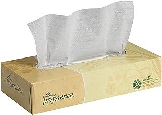 Preference 2-Ply Facial Tissue by GP PRO (Georgia-Pacific), Flat Box, 48100, 100 Sheets Per Box, 30 Boxes Per Case