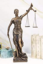 Ebros Gift Ancient Greek Blind Lady Goddess of Justice Statue La Justica Dike with..