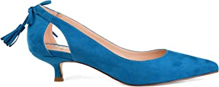 Womens Pointed Toe Cut-Out Pump