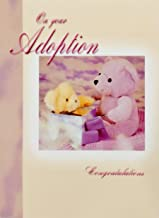 On Your Adoption - Congratulations Greeting Card -