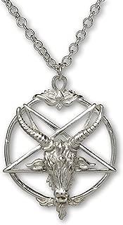 Best silver baphomet pendant Reviews