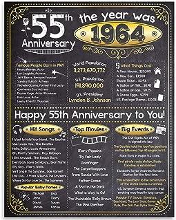 55th wedding anniversary decorations