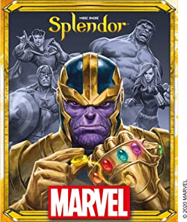 Splendor Marvel Board Game   Family Board Game   Board Game for Adults and Family   Super Heroes Strategy Game   Ages 10+...