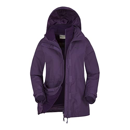 09583fcf53c0 Mountain Warehouse Fell Womens 3 in 1 Jacket -Water Resistant
